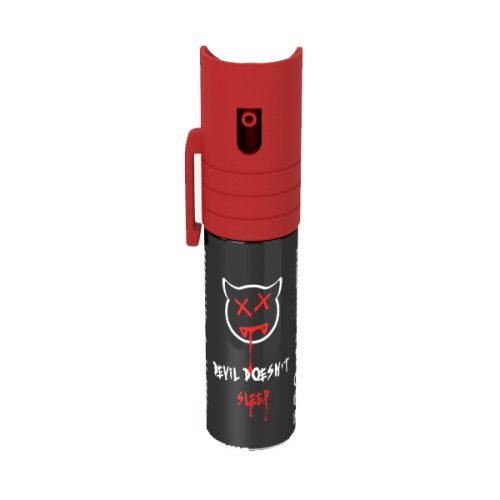 adalet spray peperoncino devil doesnt sleep rosso red fabrizio corona