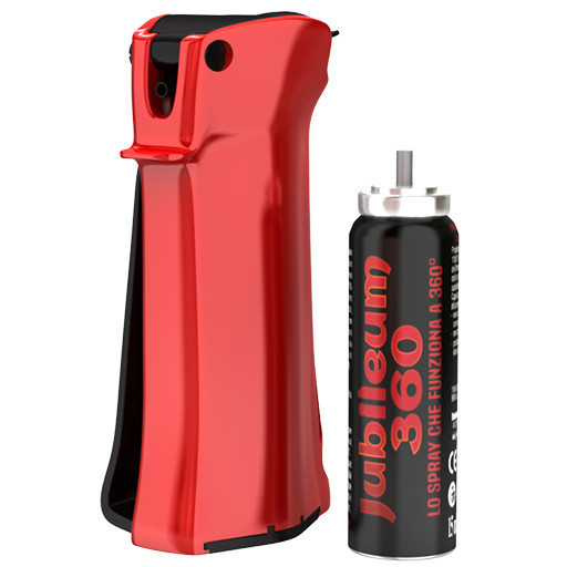 jubileum 360 red spray peperoncino-antiaggressione