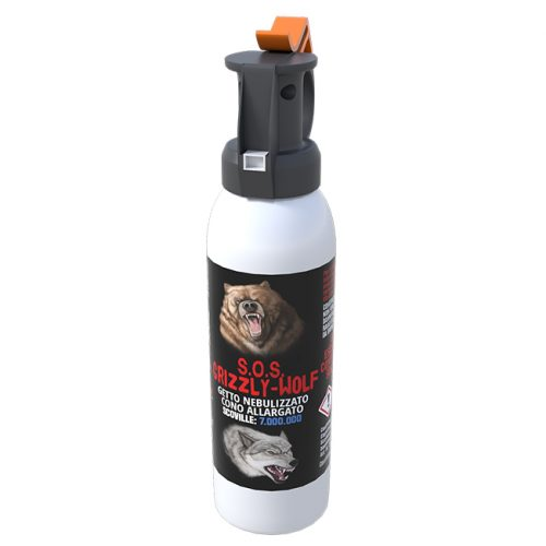 spray peperoncino animali orsi lupi